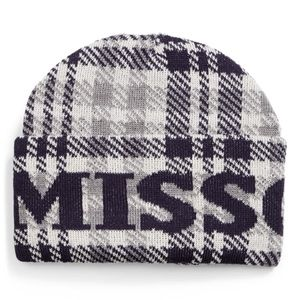 Missoni Plaid Logo Beanie